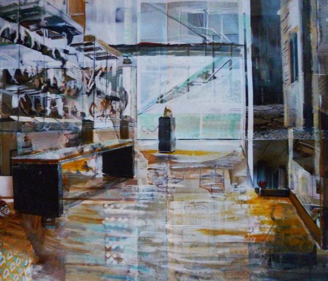 , 'Ashmolean, Islamic Gallery,' 2017, Sarah Wiseman Gallery