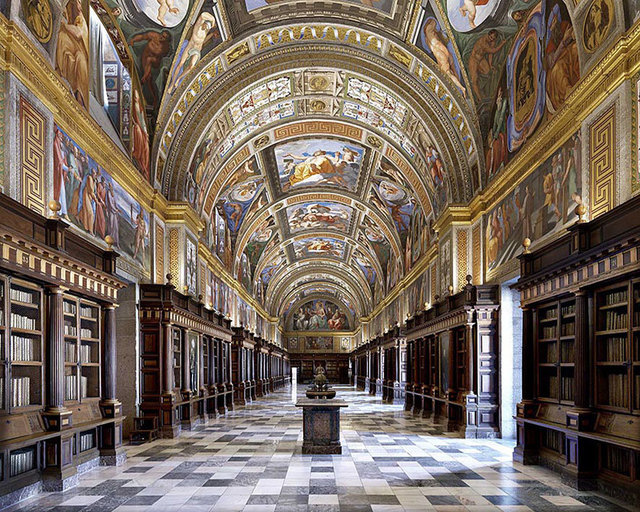 , 'El Escorial Library, Biblioteca Real, Madrid, Spain | World Libraries,' 2018, CHROMA GALLERY