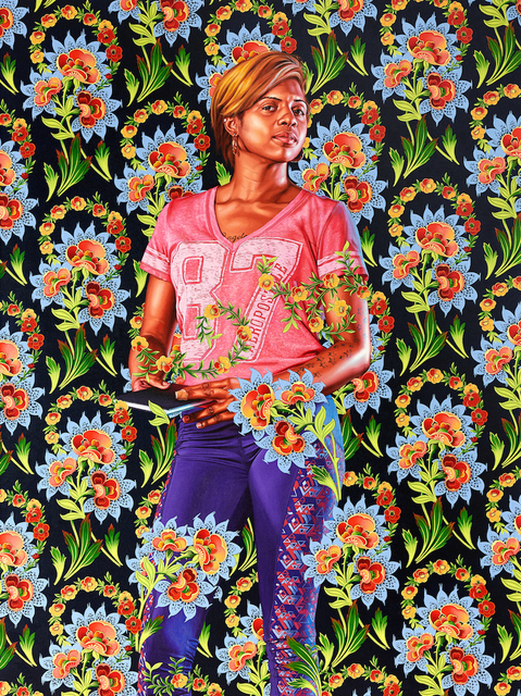 Kehinde Wiley, 'Mary, Lady Guilford', 2019, Templon