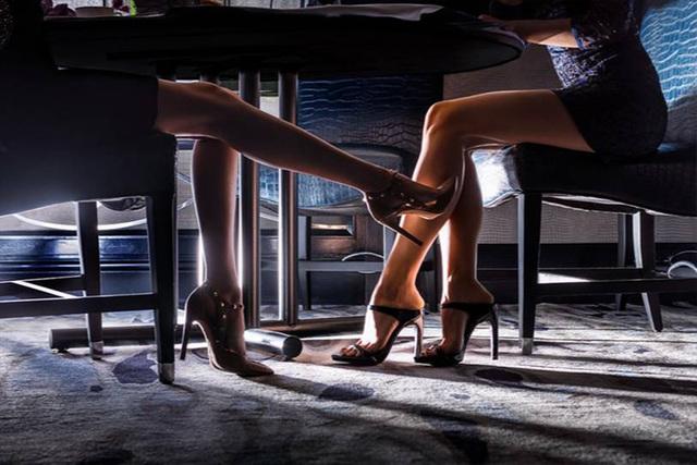 David Drebin, 'Kissing Legs', 2018, CHROMA GALLERY