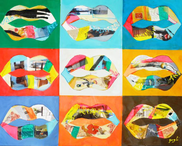 , 'Nine Lips ,' 2014, Blue Gallery