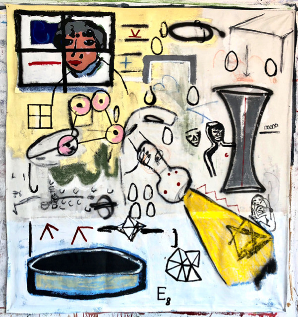 , 'E8.,' 2018, One Arts Club