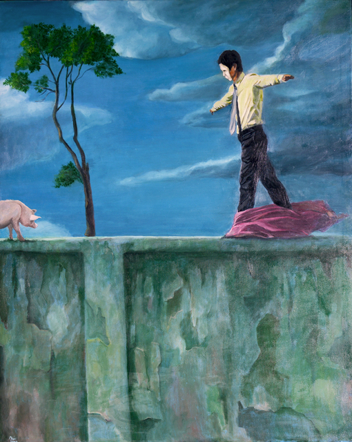 , 'Road to Happiness,' 2008, CUC Gallery