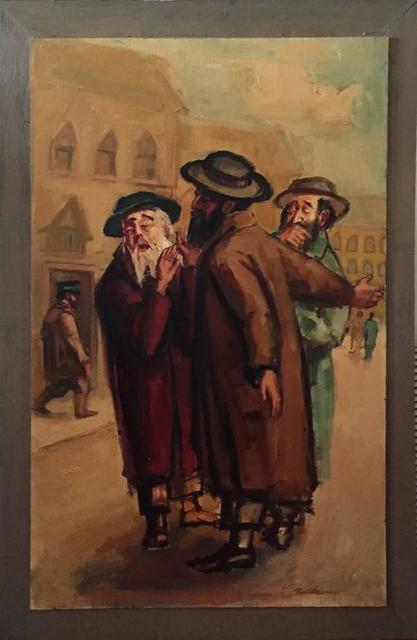 Ervin B. Nussbaum, 'Rabbinic Discussion', 20th Century, Lions Gallery