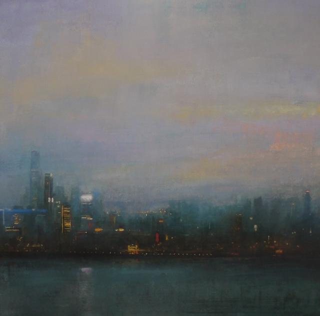 , 'Dusk, Hong Kong Harbour,' 2017, Tanya Baxter Contemporary