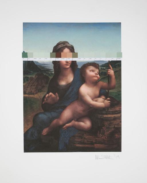 Nick Smith, 'Da Vinci - Madonna & the Yarnwinder - (Strip) ', 2019, Rhodes