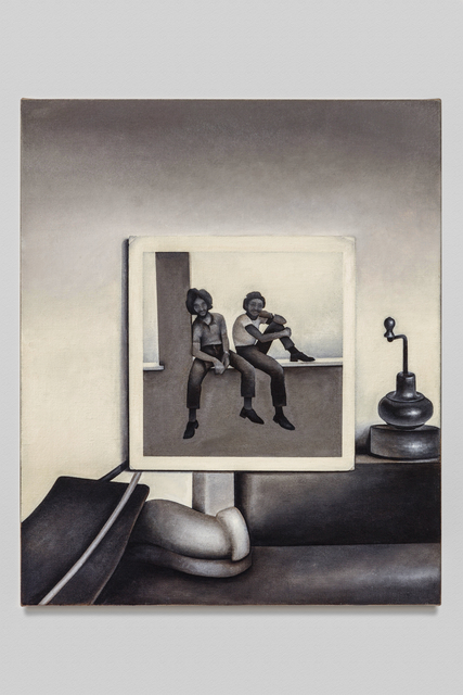 , 'Seated Figures and Objects,' 2017, Baert Gallery