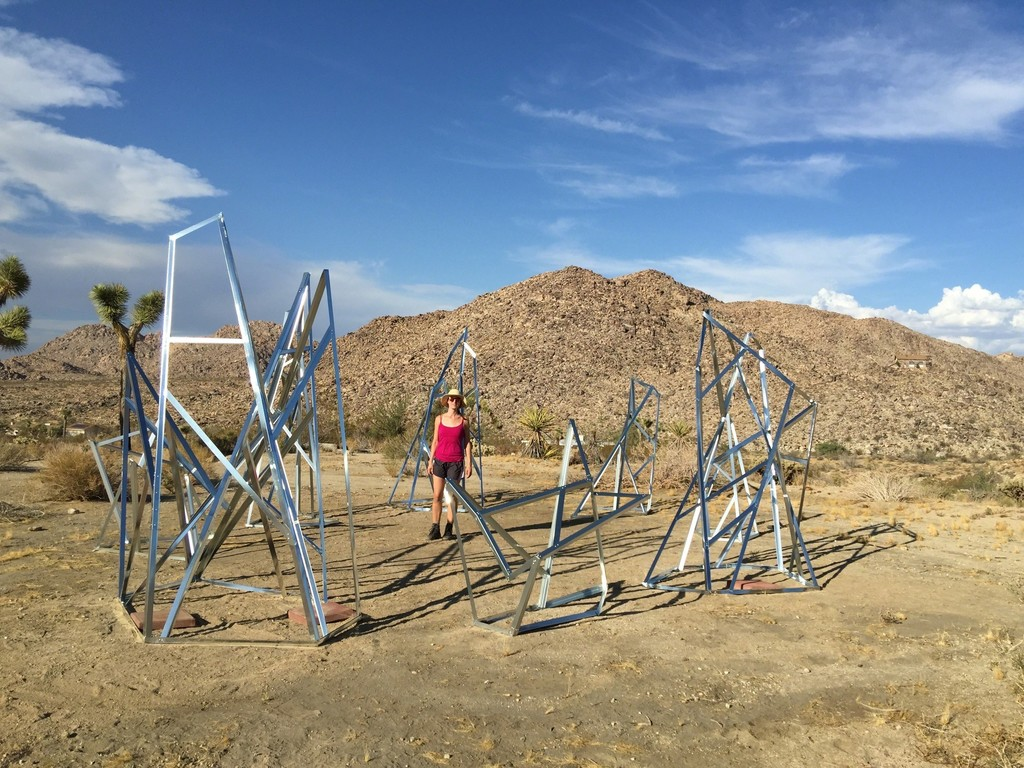 Strange High - Land, Installation Joshua Tree, Ca.  Alison Stigora