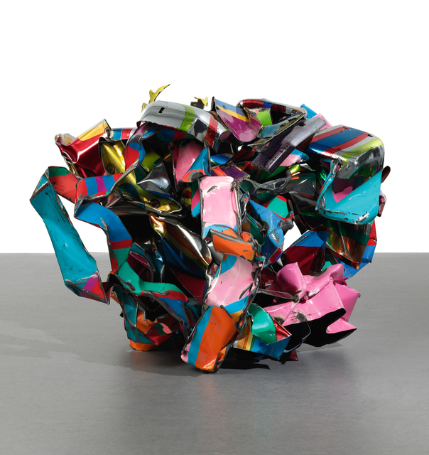 John Chamberlain, 'Boy Spotwelder', 2004, Sculpture, Painted chrome steel, Sotheby's: Contemporary Art Day Auction