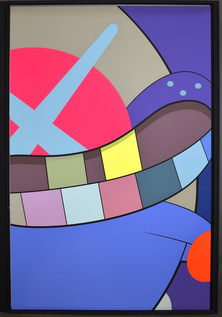 KAWS, 'Ups and Downs 10', 2013, Print, Screenprint on Saunders Waterford High White paper, Georgetown Frame Shoppe
