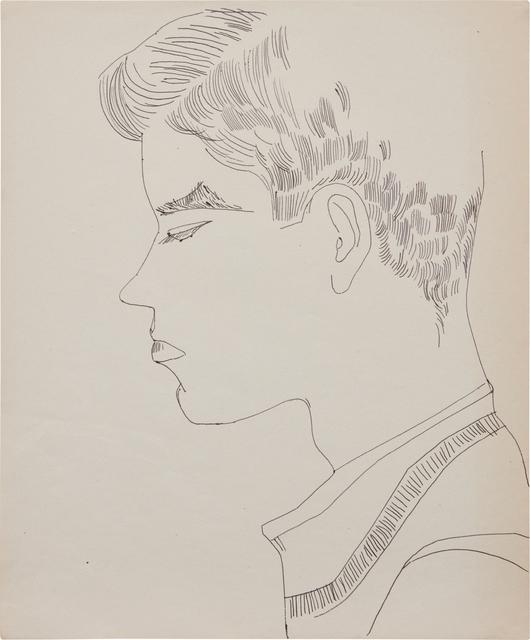 Andy Warhol, 'Boy', ca. 1956, Phillips