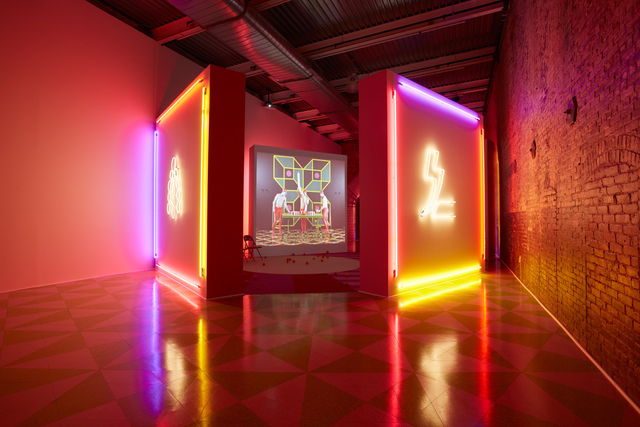 , 'Alex Da Corte and Jayson Musson, Eastersports,' 2014, MASS MoCA