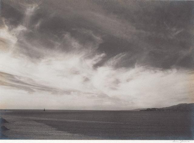 , 'Ocean and Clouds, from Golden Gate Headlands near Baker's Beach,' 1931, Alan Klotz Gallery