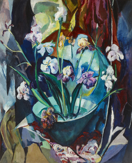 , 'Still Life with Irises,' , Avery Galleries