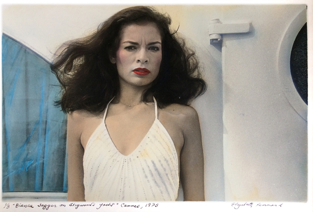 """, '""""Bianca Jagger on Stigwood's Yacht"""" Cannes,' 1975, Galerie Pixi - Marie Victoire Poliakoff"""