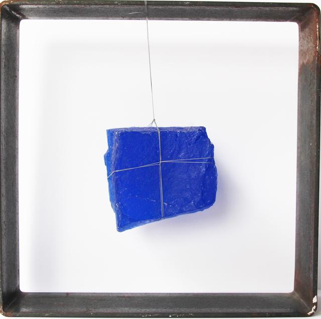 Perla KRAUZE, 'Cubo azul ', 2016, Galería Quetzalli