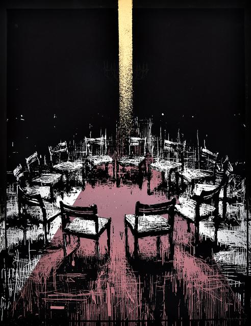 Borondo, 'Coïncidence (Gold Version)', 2017, PRINTS AND PIECES