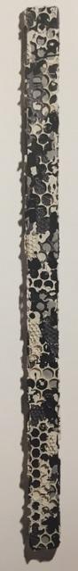 , 'Black White Grey Collage Stick,' 2018, Heather Gaudio Fine Art