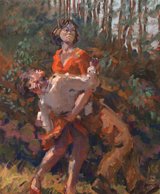 Kevin Sinnott, 'Falling Man', 2008, Flowers