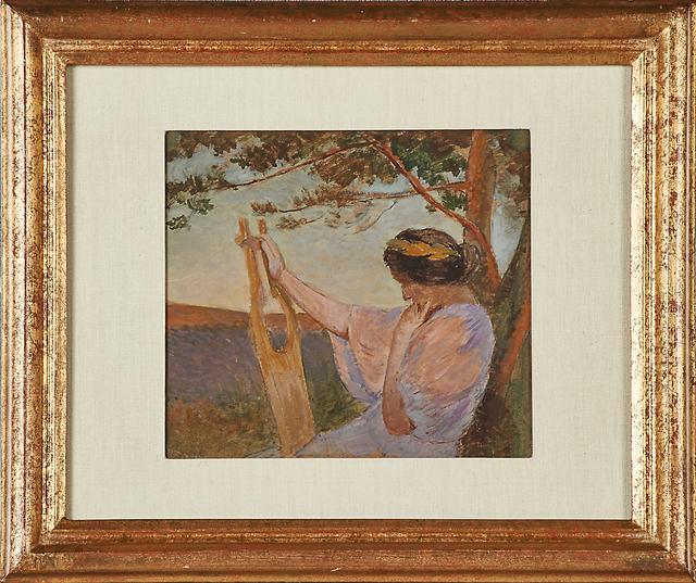 Henri-Jean Guillaume Martin, 'Untitled (Meditation)', Rago