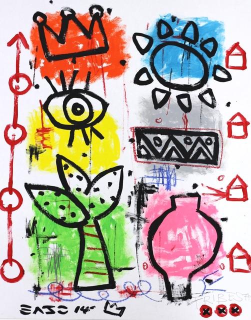 Gary John, 'Palm Tribes (framed)', 2014, Artspace Warehouse