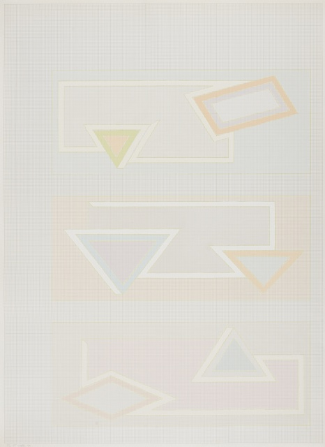 Frank Stella, 'Pastel Stack (Axsom 48)', 1970, Forum Auctions