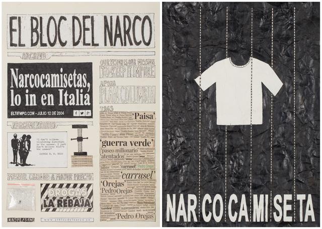 , 'El Bloc Del Narco #9,' 2016, Steve Turner
