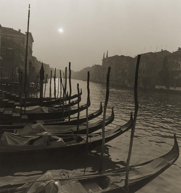 , 'Venedig,' 1975, CAMERA WORK