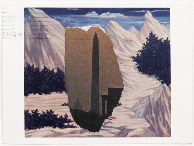 , 'Domenico Veneziano / Washington Monument,' 1984, Peter Freeman, Inc.