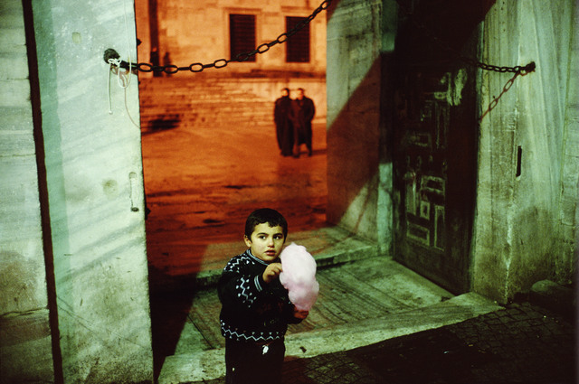 , 'Outside of the Blue Mosque during Ramadan. Istanbul. Turkey. ,' 2001, Magnum Photos