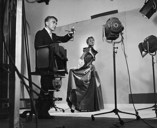 , 'Horst directing fashion shoot with Lisa Fonssagrives,' 1949, Victoria and Albert Museum (V&A)