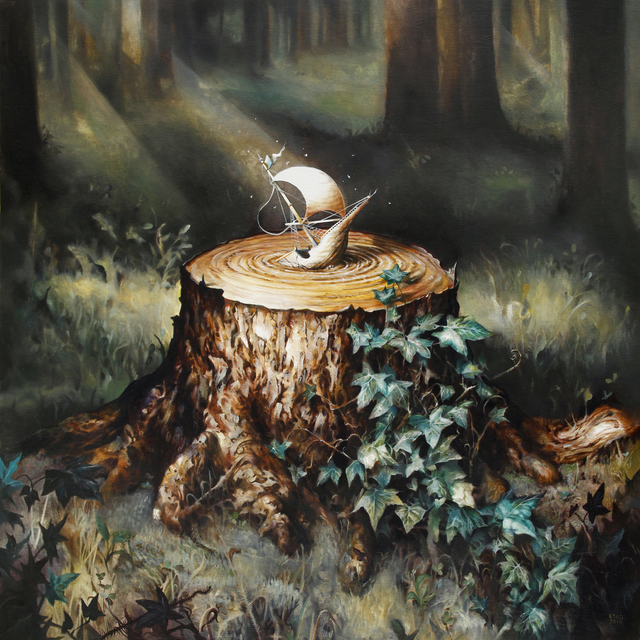 , 'Millpond,' 2014, Jonathan LeVine Projects