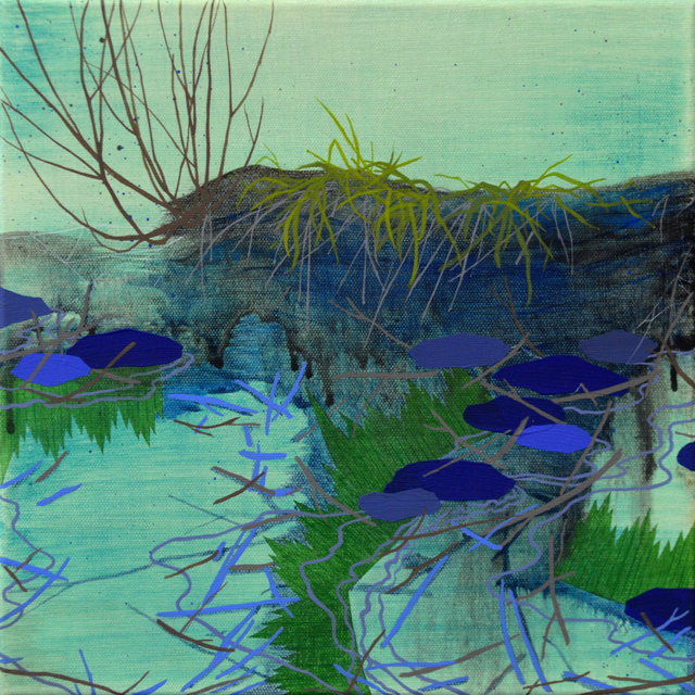 , 'Grass and Sushi Grass,' , The Bonfoey Gallery