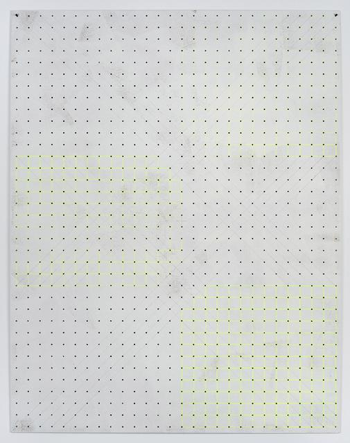 , 'Fadenkreuz,' 2013, Samy Abraham