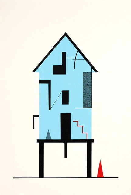, 'Houses #1,' , The George Gallery