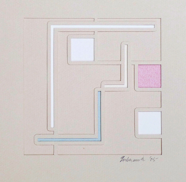 , 'Untitled Geometric Abstraction,' 1975, Alpha 137 Gallery
