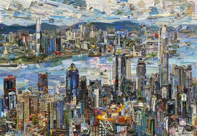 , 'Hong Kong Postcard (Postcards from Nowhere),' 2014, Ben Brown Fine Arts