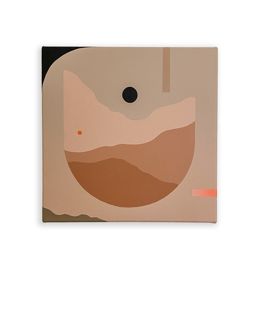 Madeleine Tonzi, 'Dark Moon Vessel', 2021, Painting, Acrylic on canvas, Hashimoto Contemporary
