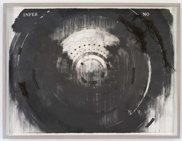 , 'Inferno,' 2016, Galerie Nathalie Obadia