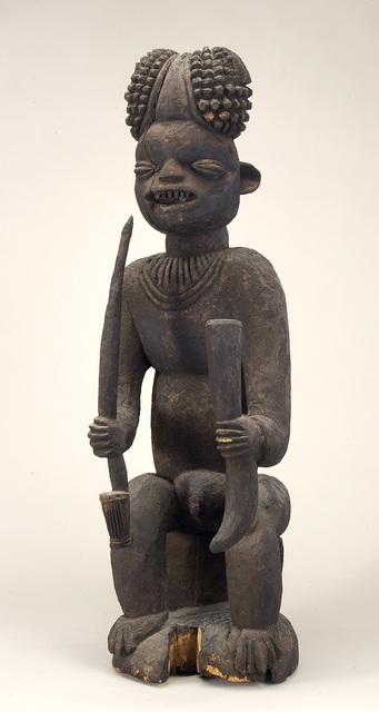 Attributed to Ateu Atsa, 'Male Figure', ca. late1800s-early 1900s, Art Gallery of Ontario (AGO)