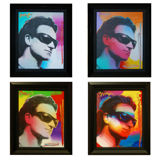 , 'Bono (Set of 4),' 2003, Baterbys Art Gallery