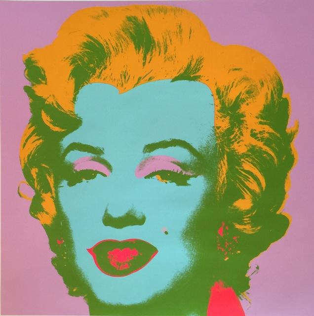 Andy Warhol, 'Marilyn Monroe (Marilyn)', 1967, Print, Screenprint on paper, Rosenfeld Gallery LLC