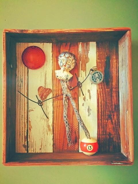 , 'Balancing Act,' 2017, Joshua Tree Art Gallery