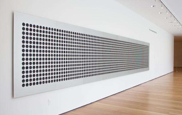 Tristan Perich, 'Microtonal Wall: 1,500 divisions of four octaves from C3 to C7', 2011, bitforms gallery