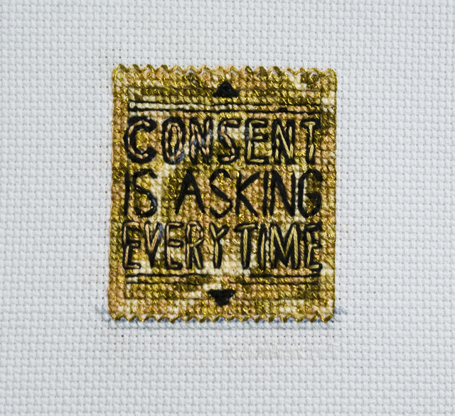 , 'Consent is Asking Everytime,' 2015, VICTORI+MO CONTEMPORARY