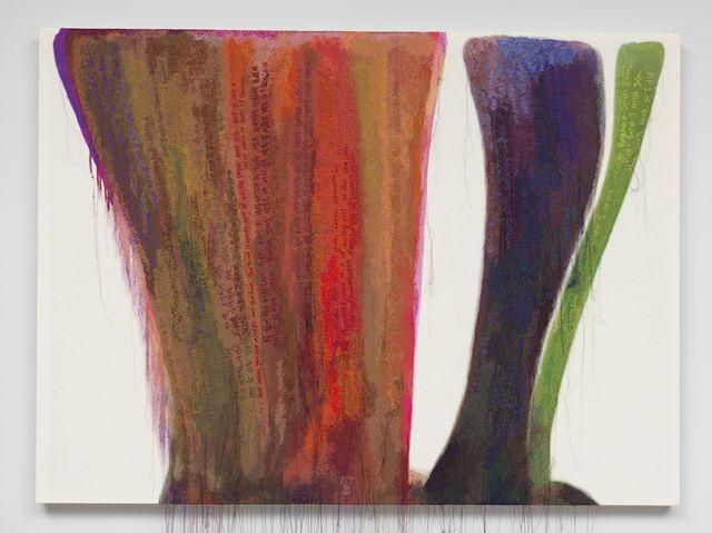 , 'Abstract Weave / Morris Louis Dalet Tzadik 1958,' 2014, Tina Kim Gallery