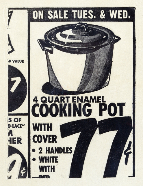 Andy Warhol, 'Cooking Pot (FS II.1)', 1962, Revolver Gallery