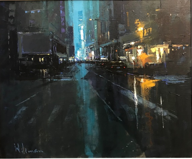 , 'The City That Never Sleeps I,' 2018, Thompson's Galleries