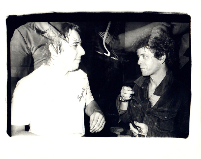 Andy Warhol, 'Andy Warhol, Photograph of John Cale and Lou Reed at the Ocean Club, 1976', 1976, Hedges Projects