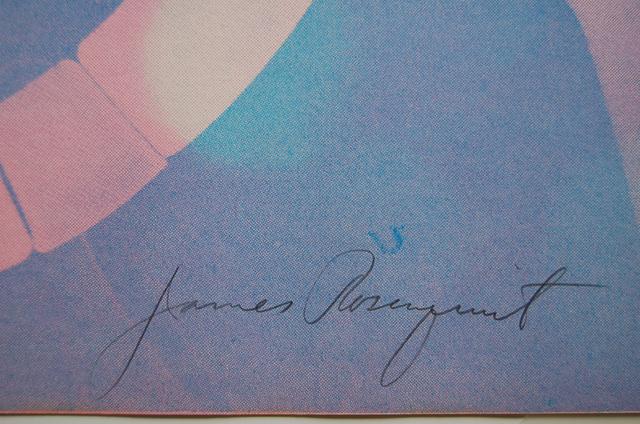 James Rosenquist, 'Somewhere to Light', 1966, Print, Screenprint, Puccio Fine Art
